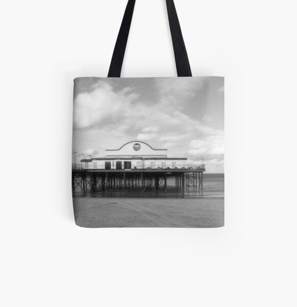Cleethorpes Pier All Over Print Tote Bag