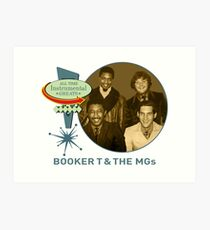 Booker T. & The MGs - All Time Instrumental Greats Art Print