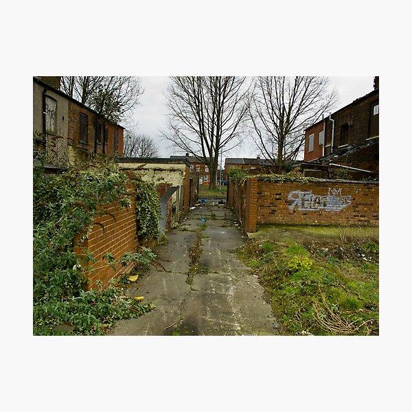 Bad Alley Photographic Print