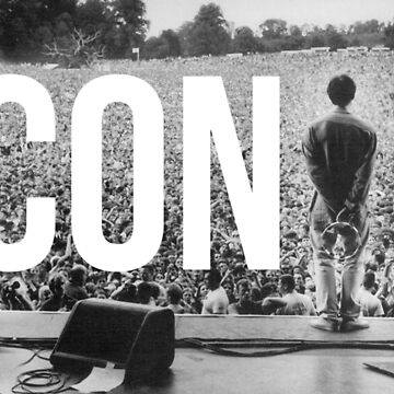 ICONIC // OASIS AT KNEBWORTH. Liam in front of crowd by DesignedByOli
