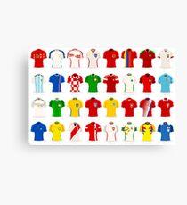 Russia Football 2018 Jersey Canvas Print