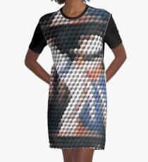 Glatter Krimineller Qbert T-Shirt Kleid