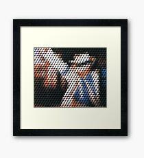 Smooth Criminal Qbert Framed Print
