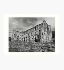 Ruins of Rievaulx Abbey Art Print
