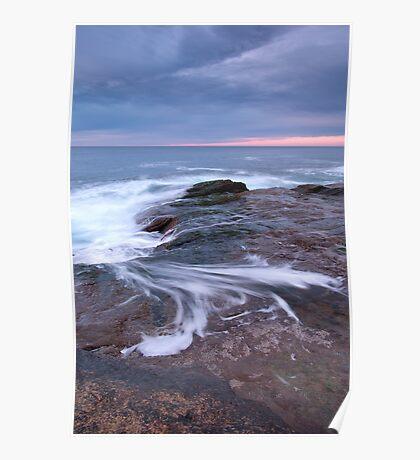 Receding Wave Poster