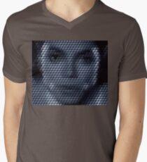 Michael Jackson Bad Cuboid Men's V-Neck T-Shirt