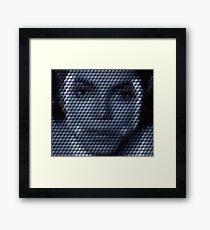 Michael Jackson Bad Cuboid Framed Print