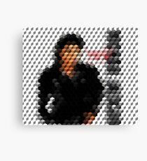Michael Jackson Bad Cuboid 2 Canvas Print