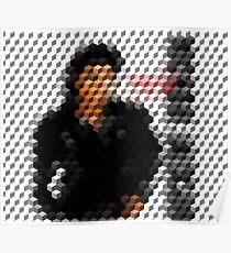 Michael Jackson Bad Cuboid 2 Poster