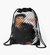 Michael Jackson Bad Cuboid 2 Drawstring Bag
