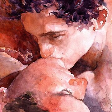 "Call Me By Your Name "" Watercolor "" by deerley"