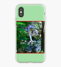 Moutain Pool and Waterfalls iPhone Case