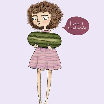 Dirty Dancing - I carried a watermelon by agrapedesign