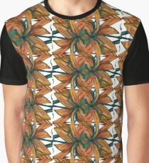 Earth, Wind and Fire Pattern Graphic T-Shirt