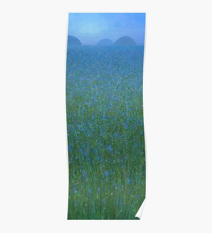 Blue Meadow I Poster