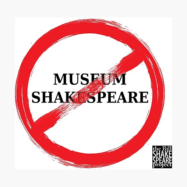 No Museum Shakespeare Photographic Print