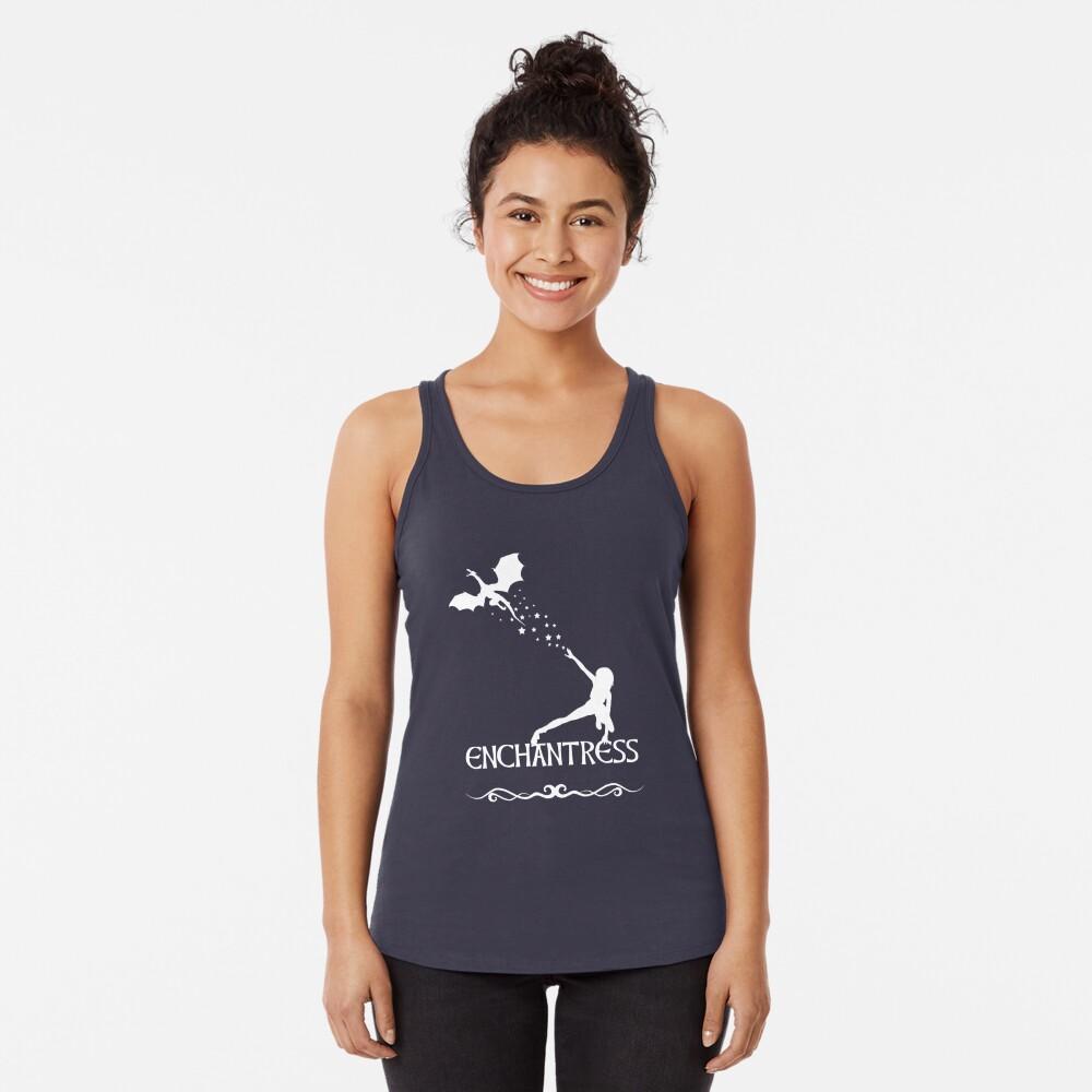 Hechicera Camiseta con espalda nadadora