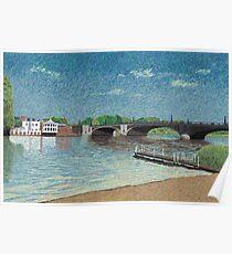 Hampton Court (England) : One sunny day in Hampton Court 02 Poster