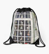 Fenêtre Fantastique Drawstring Bag
