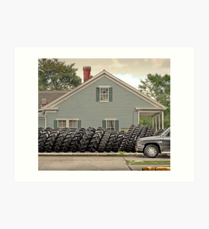 Louisiana Tires Art Print