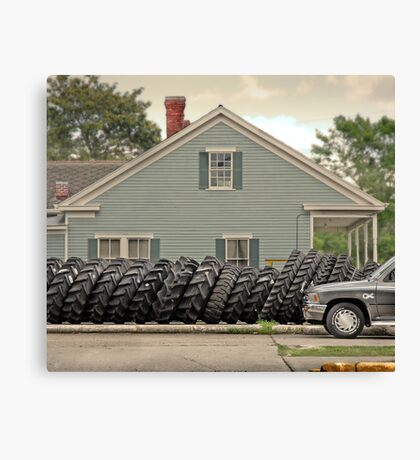 Louisiana Tires Canvas Print