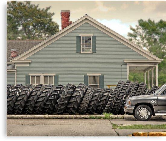 Louisiana Tires by Paul Vanzella