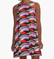 Space Travel A-Line Dress