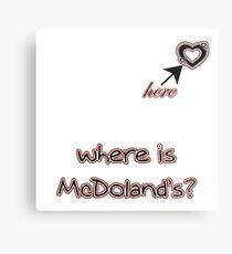 MCDONALD'S Metal Print