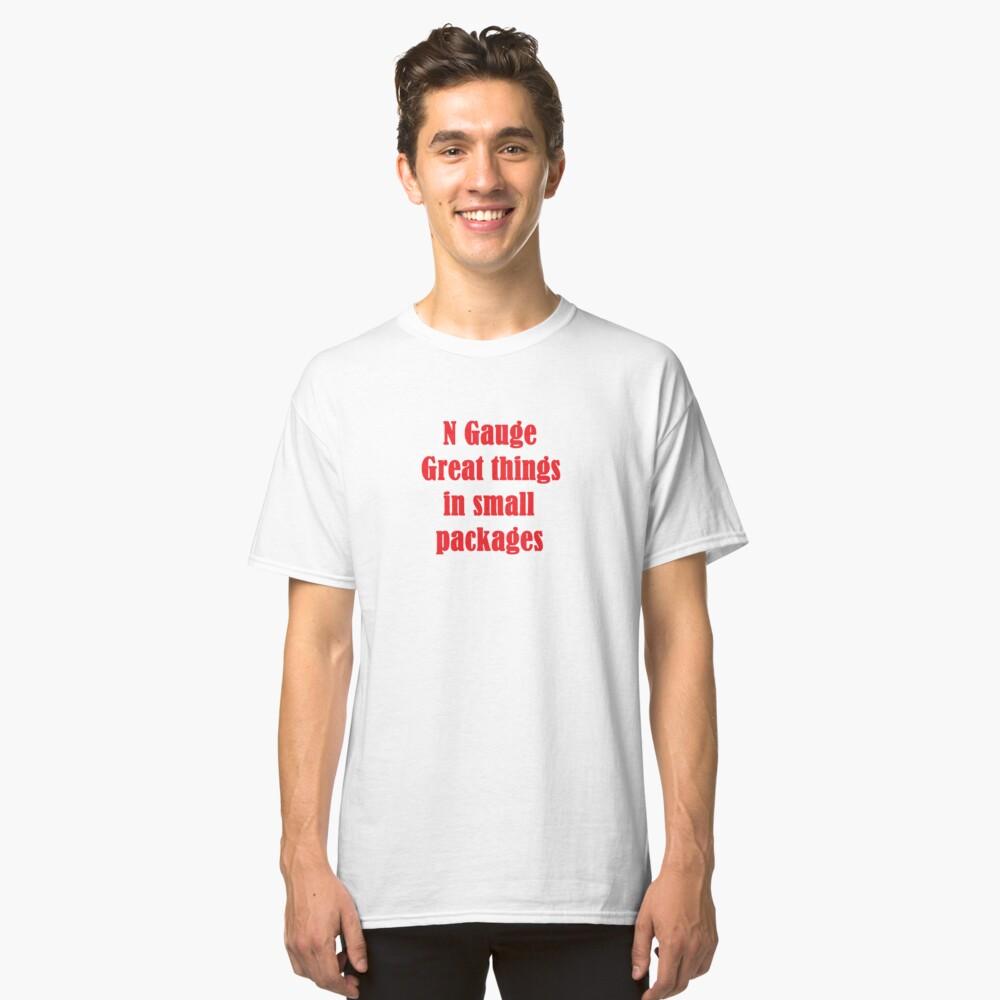 N Gauge 1 Classic T-Shirt Front