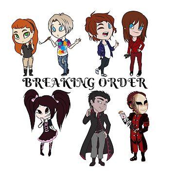 Breaking Order Cast One by CtrlAltLee