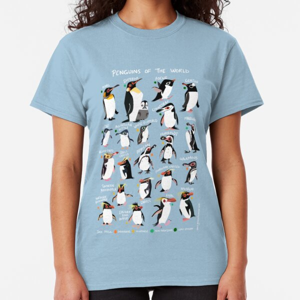 Penguins of the World Classic T-Shirt