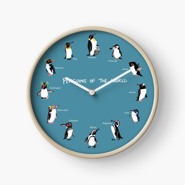 Penguins of the World Clock