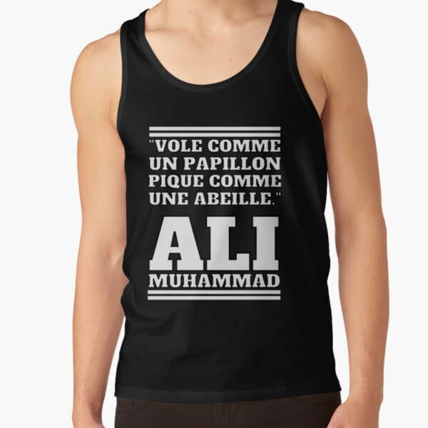 Fly like a butterfly, sting like a bee - MUHAMMAD ALI Tank Top