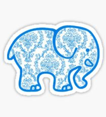 Ivory Ella Sticker — Blue Victorian Sticker