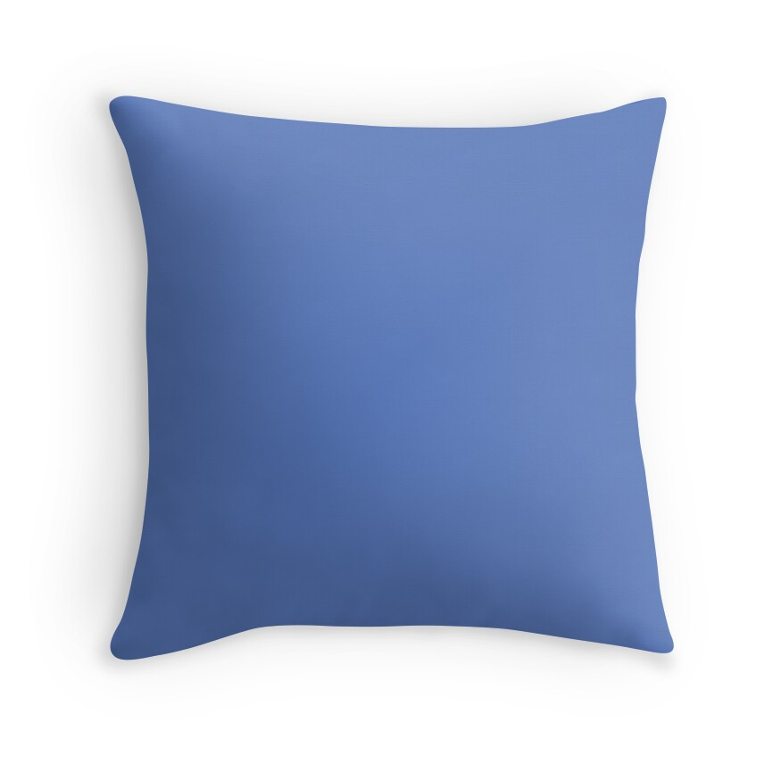 Bright Ultramarine Blue Color Of The Day Solid Color