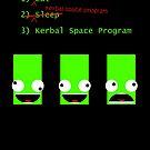 «Comer. Dormir. Programa espacial Kerbal.» de 27394days