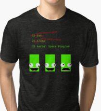 Eat. Sleep. Kerbal Space Program. Tri-blend T-Shirt