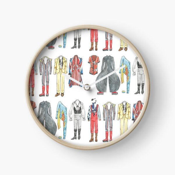 BOWIE COSTUMES Clock