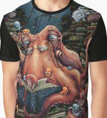 Grandpa Octopus Graphic T-Shirt