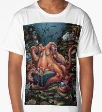 Grandpa Octopus Long T-Shirt