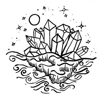 Crystals Island  by shashira