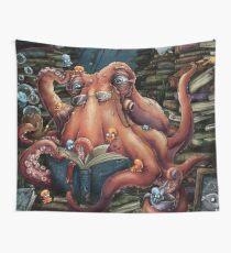 Grandpa Octopus Wall Tapestry