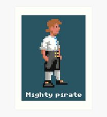 Mighty Pirate V2 Art Print
