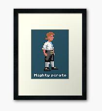Mighty Pirate V2 Framed Print