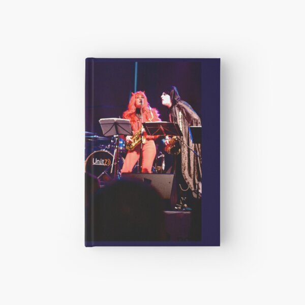 Live Band in Waterloo Place Derry, Halloween 2012 Hardcover Journal