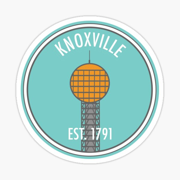 Knoxville Sunsphere Sticker