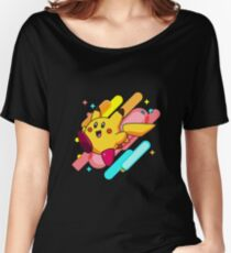 Pikachu-Kirby Women's Relaxed Fit T-Shirt