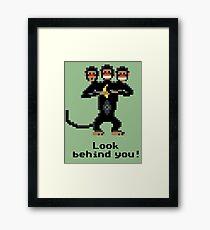 Three-Headed Monkey Framed Print