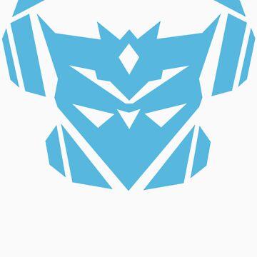 Teknicianz Logo- Sky Blue by theteknicianz