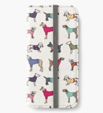Sweater Dogs iPhone Wallet/Case/Skin